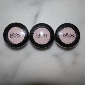 NYX Nude Matte Shadow 01 Birthday Suit 3 Lot